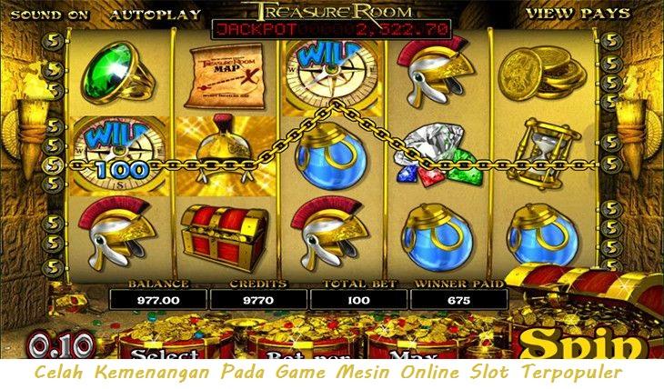 Celah Kemenangan Pada Game Mesin Online Slot Terpopuler