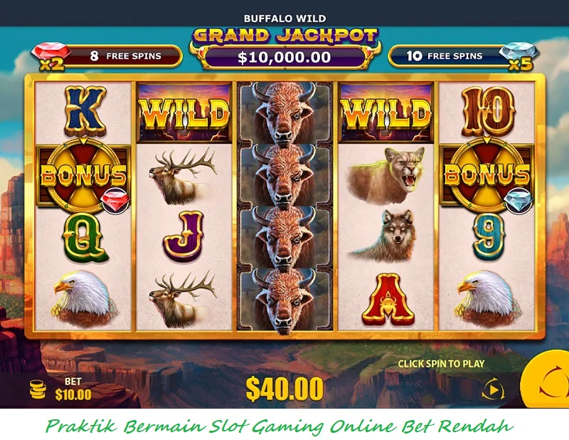 Praktik Bermain Slot Gaming Online Bet Rendah